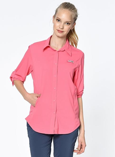 Columbia Uzun Kollu Gömlek Pembe